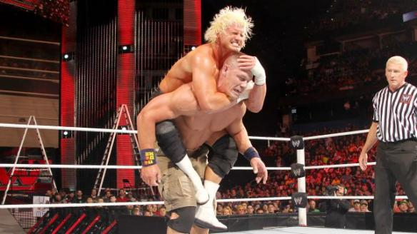 Ricardo drops him with a sleeper hold on Christmas Eve but 2 weeks later Ziggler can't with the same move? AW HELL NAH!