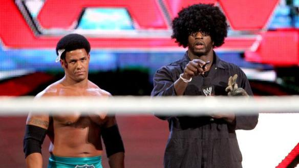 Darren Young and Uncle Pancake