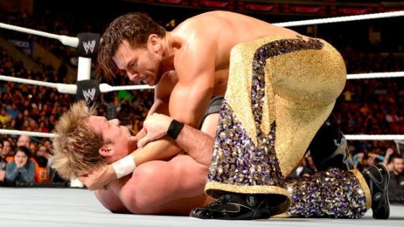 I am the glitteriest dancing WWE Superstar!