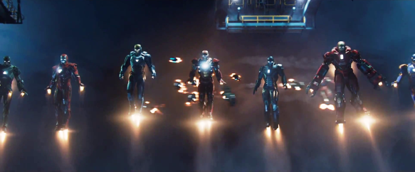 Iron Man 3 Iron Legion