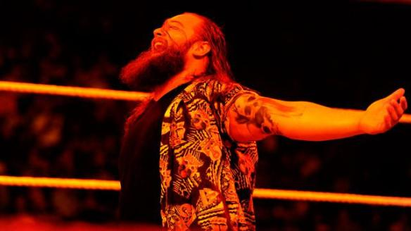How do you make Bray Wyatt creepier? Add fire